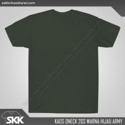 Kaos-polos-combed-20s-Hijau-Army