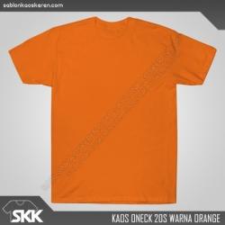 Kaos-polos-combed-20s-Orange