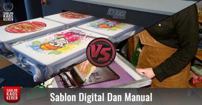Perbedaan Sablon Digital Dan Manual