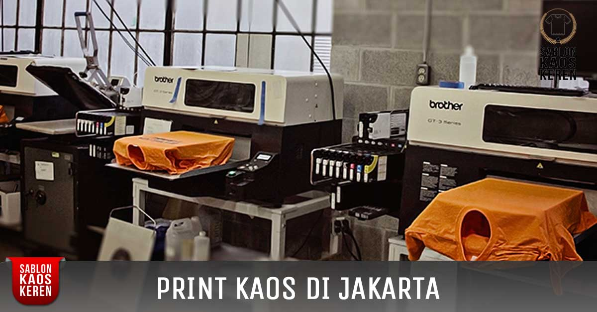 Print Kaos DTG Jakarta
