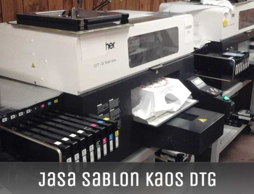 Jasa Sablon Kaos DTG
