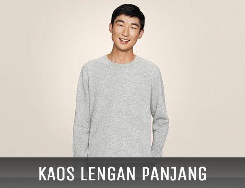 Kaos Model Lengan Panjang