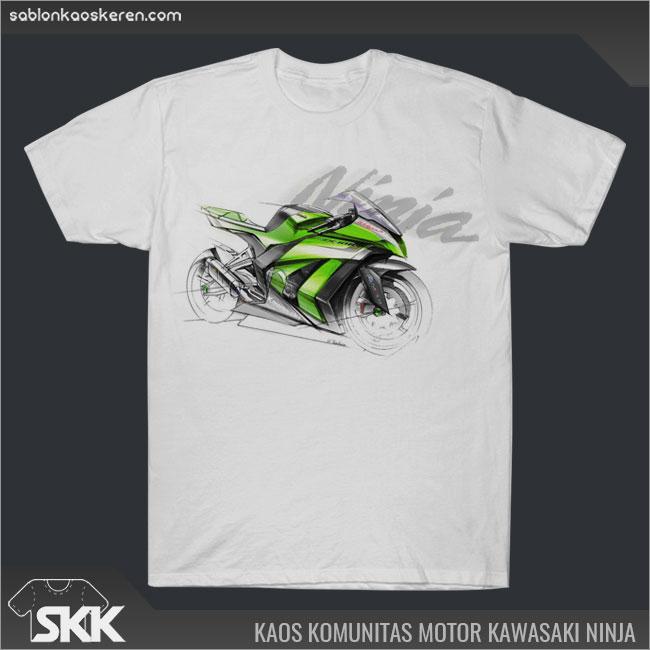 Kaos Komunitas Motor Kawasaki Ninja