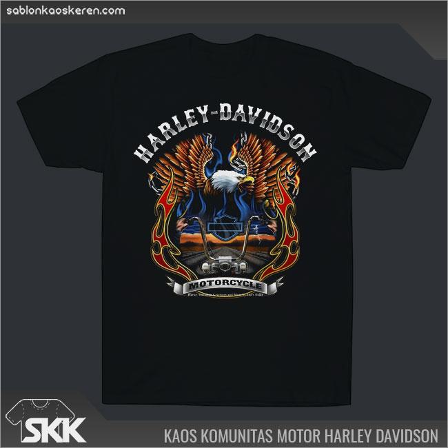 Kaos Komunitas Harley Davidson