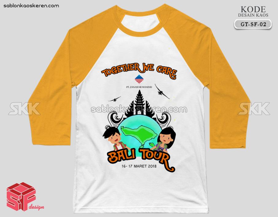 Desain Kaos Bali Tour