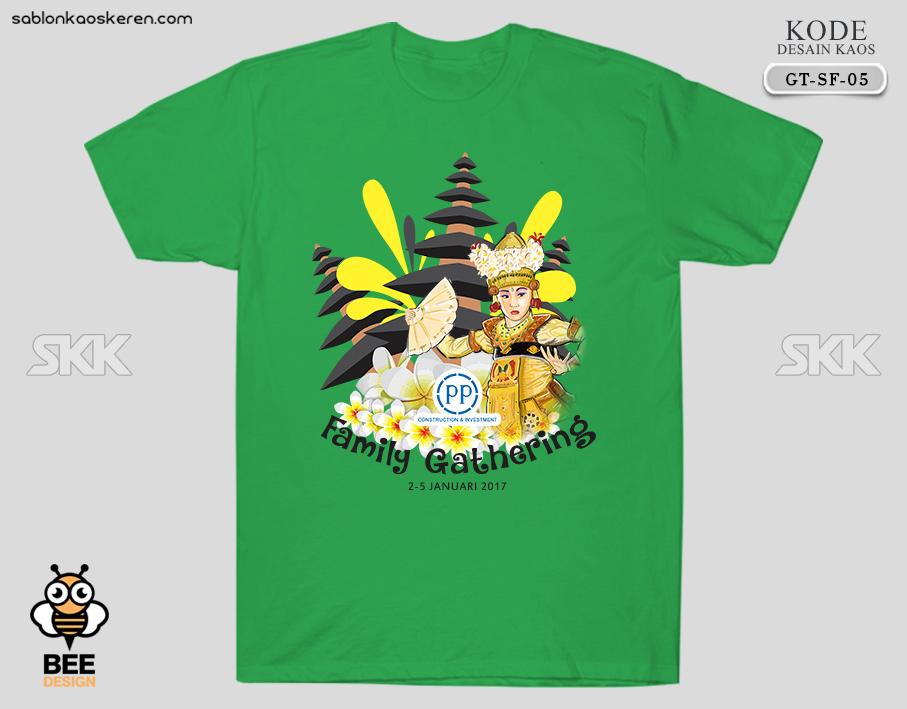 Desain Kaos Gathering Bali