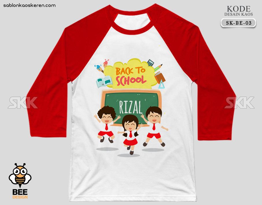 Desain Kaos Sekolah SD