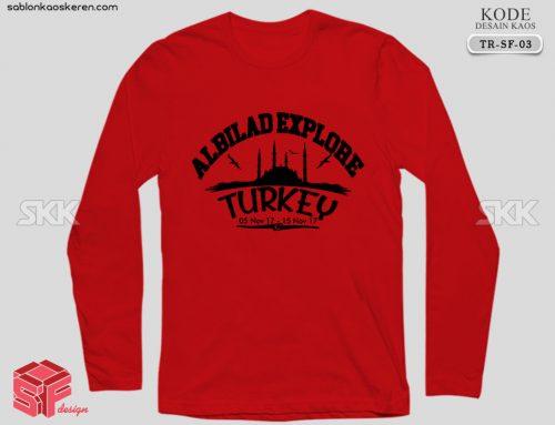 Desain Kaos Traveling Turkey