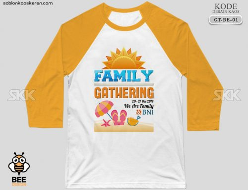Kaos Family Gathering Bank BNI