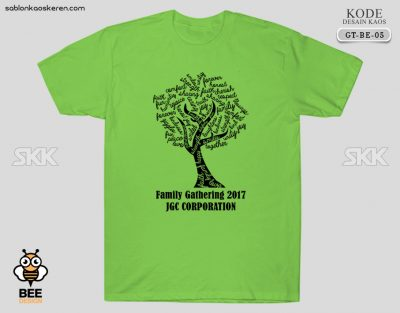 Contoh Kaos Family Gathering