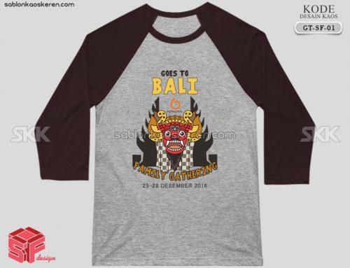 Kaos Gathering PT Perhutani To Bali