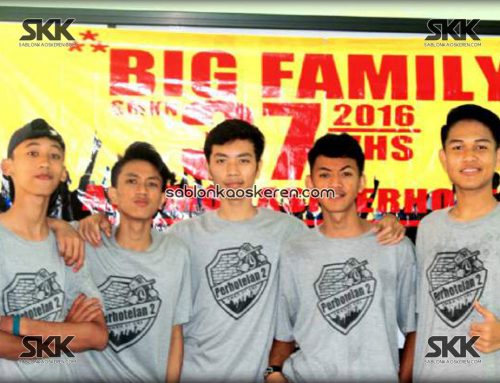 Kaos Kelas Big Family Perhotelan