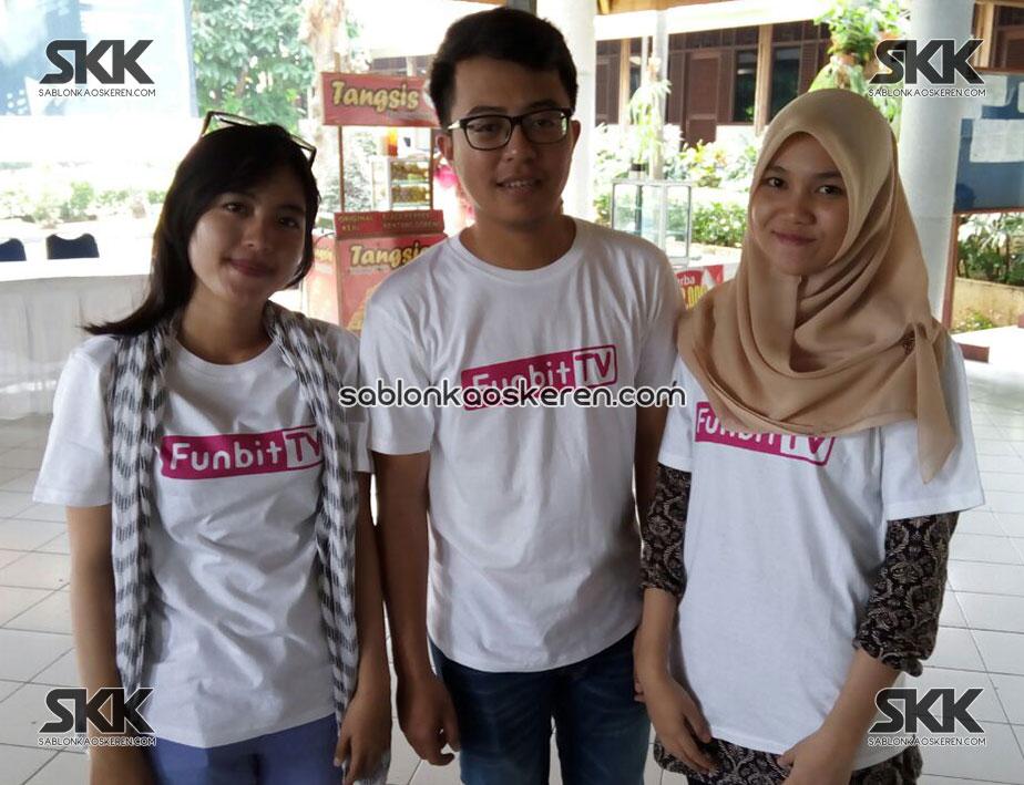 Kaos Seragam Funbit TV