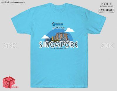 Kaos Traveling Ke Singapura