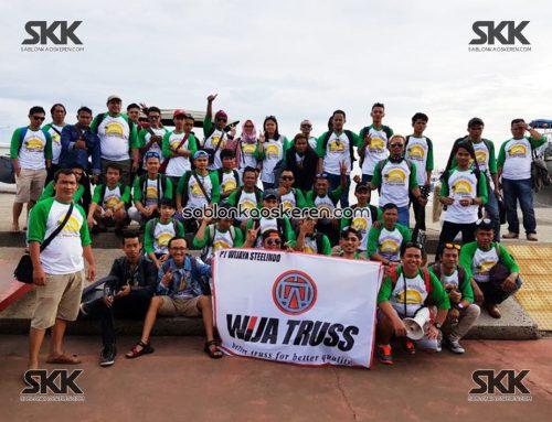 Kaos Acara Family Gathering PT Wijaya