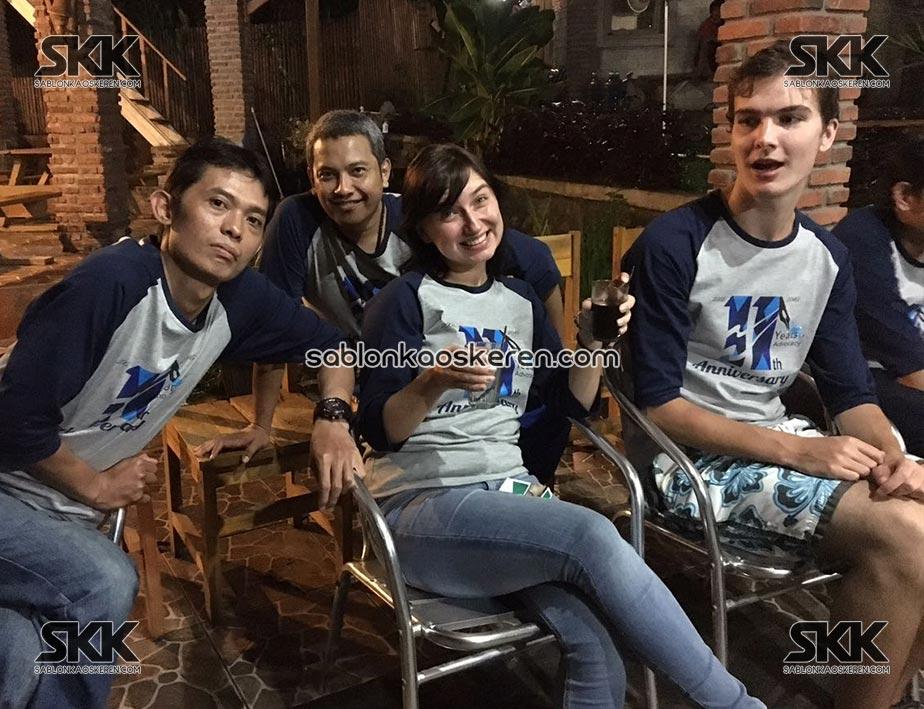 Kaos Family Gathering Karyawan