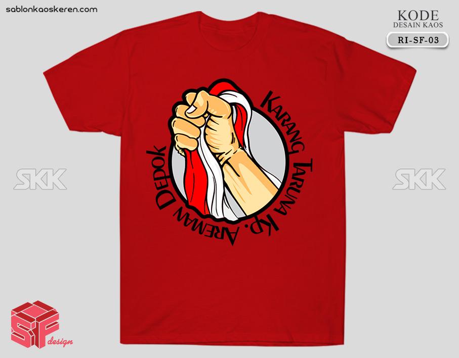 Desain Kaos 17 Agustus Karang Taruna