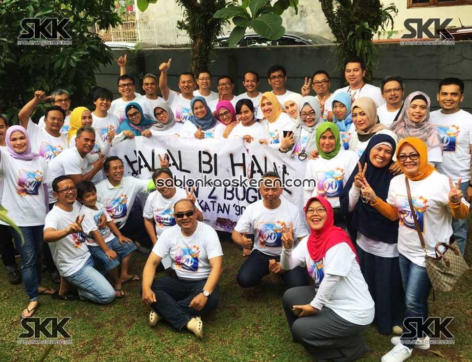 Kaos Halal Bihalal
