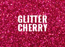 Polyflex Glitter Cherry