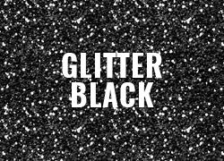 Polyflex Glitter Hitam