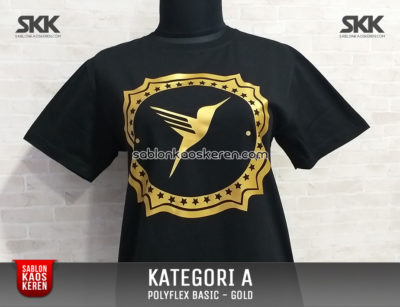Sablon Polyfex Basic Gold