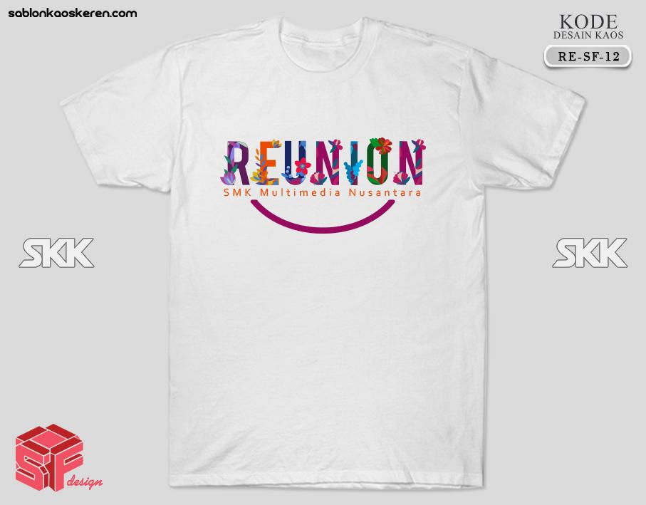Contoh Kaos Reuni SMK