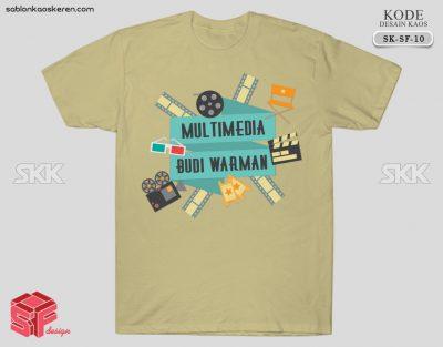 Desain Kaos Kelas Multimedia