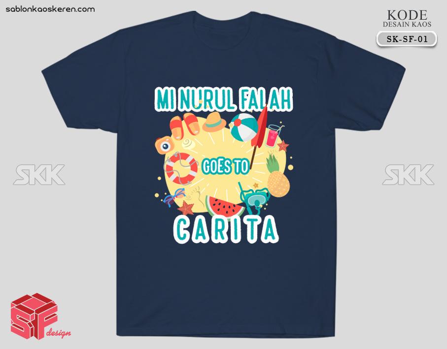 Desain Kaos Kelas Online