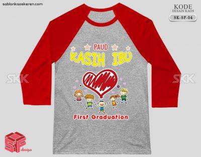Desain Kaos Kelas TK
