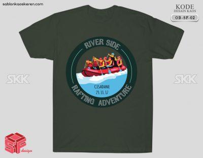 Desain Kaos Rafting Cisadane