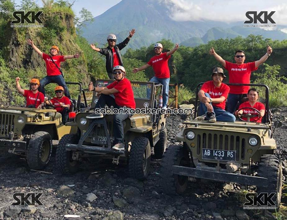 Kaos Outing Ke Yogyakarta