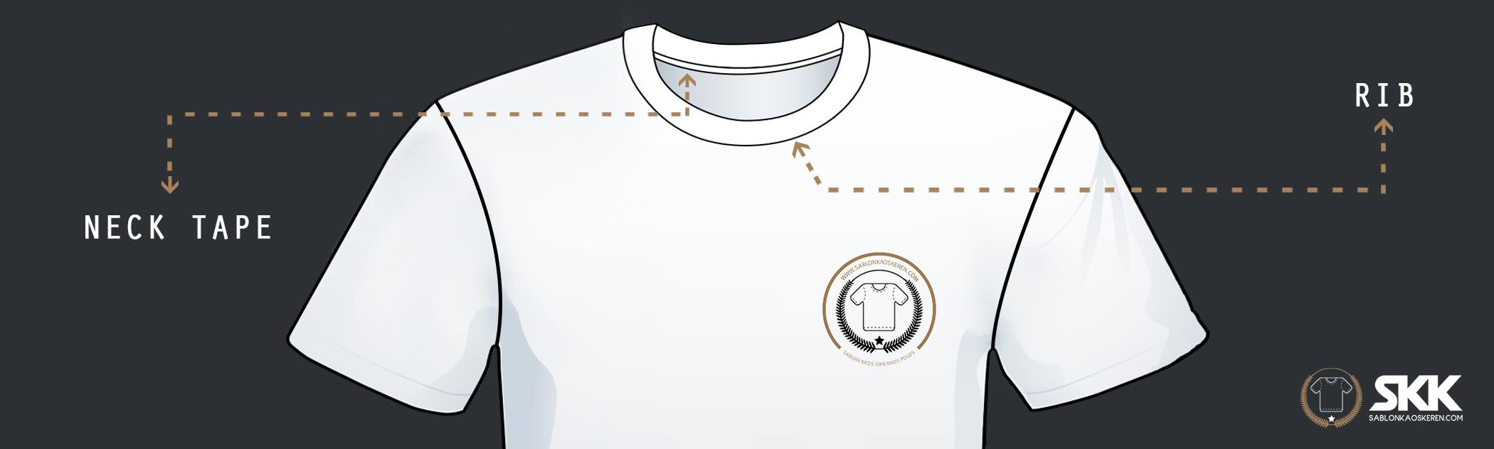 Panduan Pola Kaos Fullprint