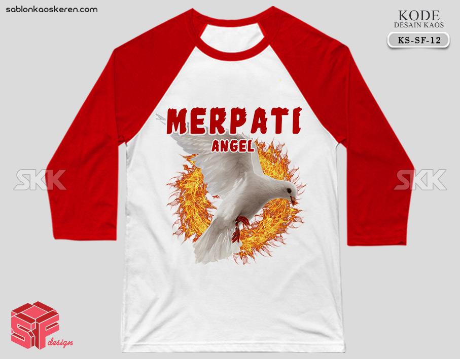 Desain Kaos Burung Merpati
