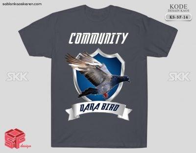 Kaos Komunitas Burung Merpati