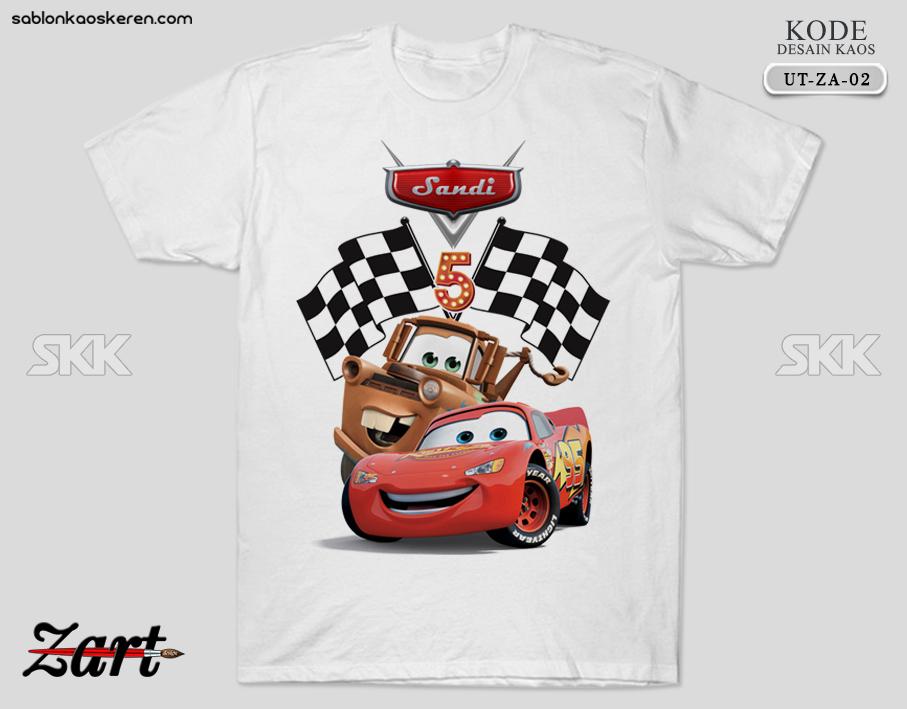 Kaos Ulang Tahun Cars